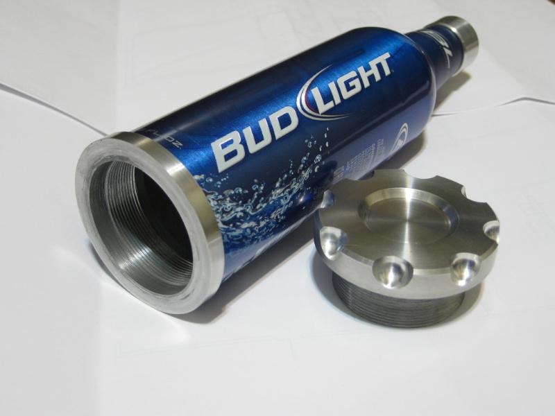 Bud Light Aluminum Bottle Crafts