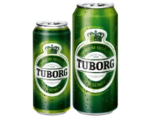 Tuborg Aluminum Bottle