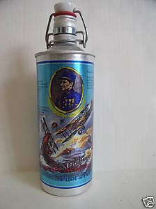 Pilot's Beer Aluminum Bottle
