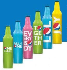 Aluminum Bottles Pepsi