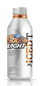 Coors Aluminum Bottle