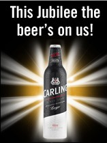 Carling Aluminum Bottle