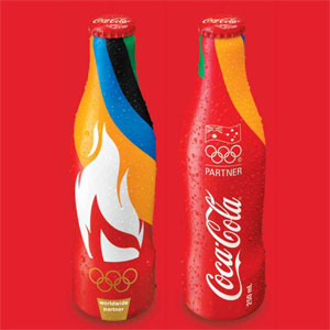 Coke-Olympic-Games-Aluminum bottles