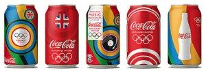 Coca Cola Aluminum Cans