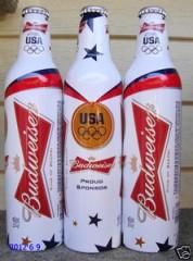 Bud Aluminum Bottle Olympics