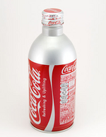 Coke Aluminum Bottle